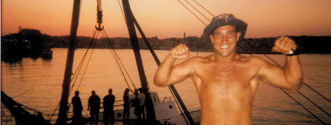 Recupero NUOVA STELLA D'ITALIA imbarcazione lunga 45 mt (Anzio)